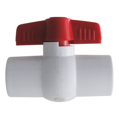 "LDR 0.5"" PVC Ball Valves Threaded"