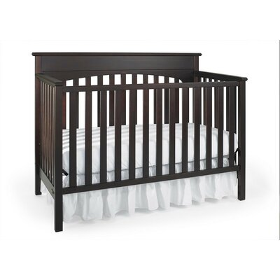 Graco Lauren Classic 4-in-1 Convertible Crib in Walnut