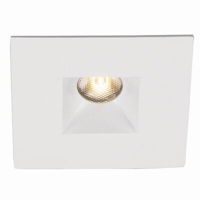 "WAC Lighting LEDme Square Open 2"" Recessed Trim"