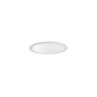 "WAC Lighting 8"" Recessed Vertical Lighting Trim with Step Baffle"