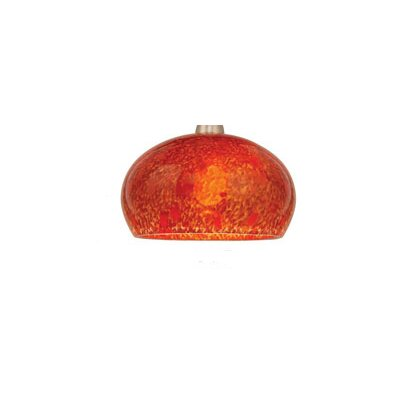 WAC Lighting Komal Pendant Glass Shade in Red