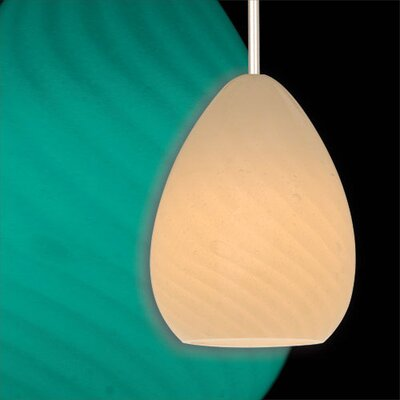 WAC Lighting Yu Quick Connect Pendent Glass Shade in Glow Jade