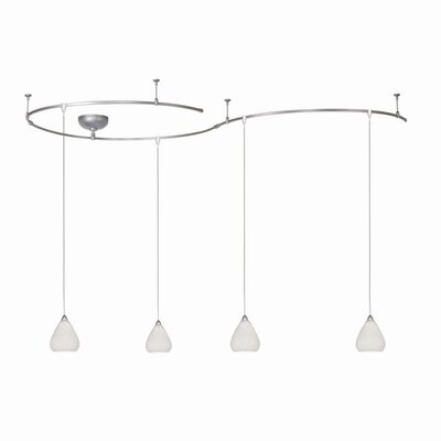 WAC Lighting Low Voltage 4 Pendant Monorail Kit