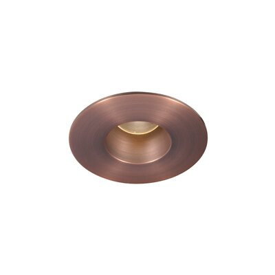 "WAC Lighting LED 2"" Recessed Downlight Shower Round Trim with 26 Degree Beam Angle"