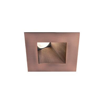 Recessed Lights Wall Washer : WAC LED Downlight Wall Washer Square 3