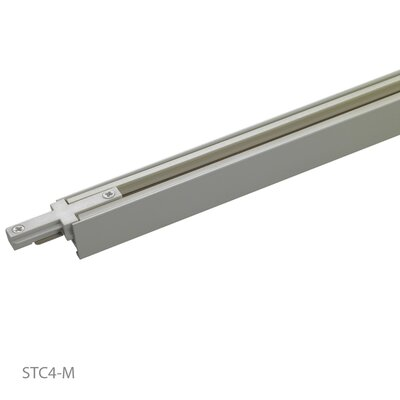 WAC Lighting Extruded Aluminum Linear Track Carrier- Start Section