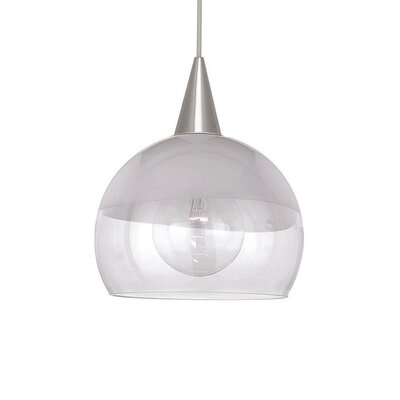 WAC Lighting Frost Line Voltage Mini Pendant