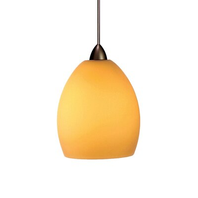 WAC Lighting Contemporary 1 Light Sarah Line Voltage Pendant