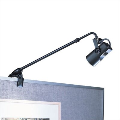WAC Lighting Low Voltage 50 Watt Adjustable Clamp Display Light with Plug-In Electronic Transformer
