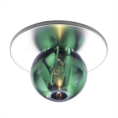 WAC Lighting Beauty Spot Spherical Crystal Accent Shade in Green