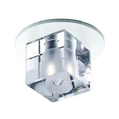 WAC Beauty Spot Cube Crystal Accent Shade in Clear