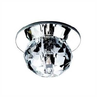 WAC Beauty Spot Round Cut Crystal Accent Shade in Clear