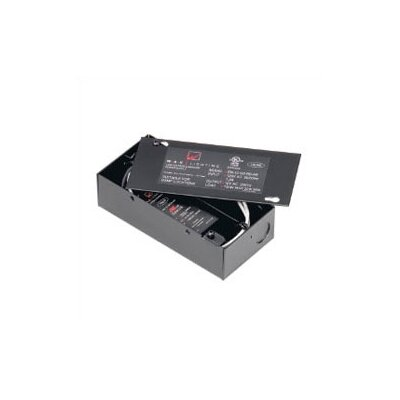 WAC Lighting 120V Remote Electronic Transformer in Black