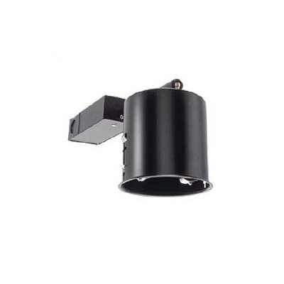 "WAC Lighting 3"" Miniature Black Non-IC Remodel Housing with Electronic Transformer"