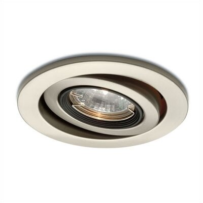 "WAC Lighting 4"" Low Voltage Gimbal Ring Recessed Lighting Trim"