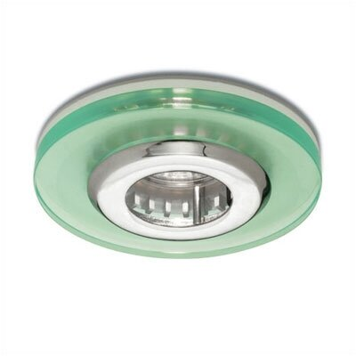 "WAC Lighting 4"" Low Voltage Acrylic Disc Recessed Lighting Trim"
