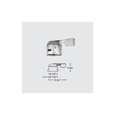 "WAC Lighting 6"" Line Voltage Non-IC Remodel Shallow Housing"