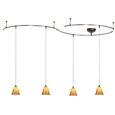 WAC Lighting 1 Light Monorail Pendant Kit