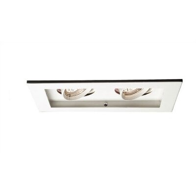 WAC Lighting 50W Line Voltage Multi Spot Trim and  Optional Housing