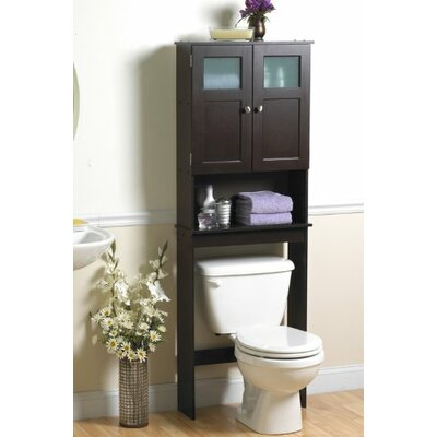 "23.25"" x 66.5"" Over the Toilet Cabinet"