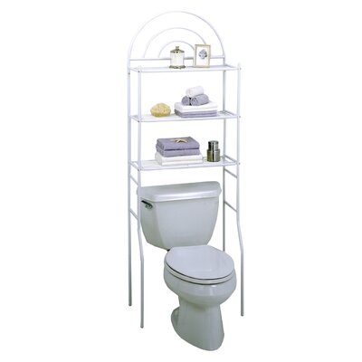 Zenith Freestanding Space Saver in White