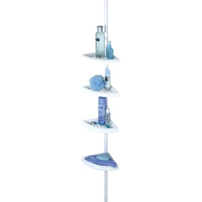 Zenith Products Bathtub and Shower Caddy in White