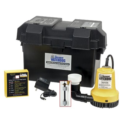 basement watchdog 1000 gph battery backup sump pump system reviews