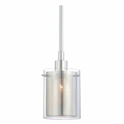 <strong>George Kovacs by Minka</strong> Grid II 1 Light Mini Pendant
