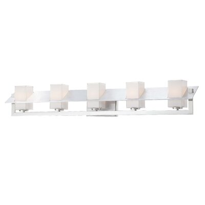 George Kovacs Tilt 5 Light Bath Vanity Light