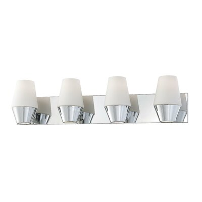 George Kovacs by Minka Retrodome 4 Light Bath Vanity Light