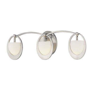 George Kovacs by Minka  Vanity Light in Brushed Nickel