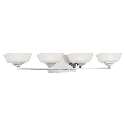 George Kovacs by Minka Clean 4 Light Bath Vanity Light