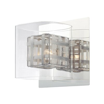 George Kovacs by Minka Jewel Box 1 Light Bath Vanity Light