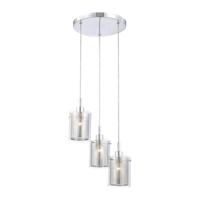 George Kovacs by Minka Grid II 3 Light Pendant