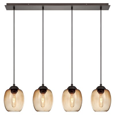 George Kovacs by Minka Bubble 4 Light Kitchen Island Pendant