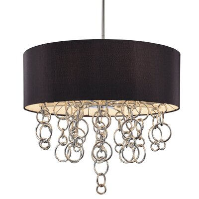 George Kovacs by Minka Ringlets 8 Light Drum Pendant