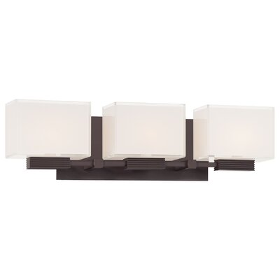 George Kovacs by Minka 3 Light Vanity Light