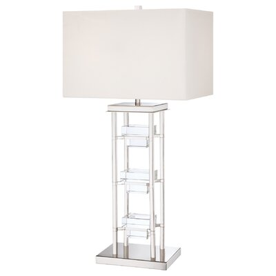 "George Kovacs by Minka 33.5"" H 2 Light Table Lamp"