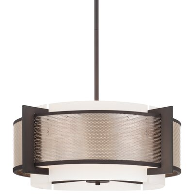 George Kovacs by Minka Mainly Mesh 4 Light Drum Pendant