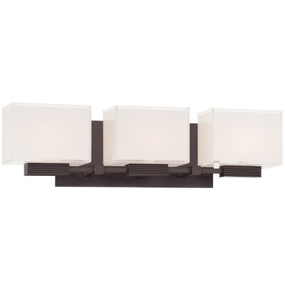 George Kovacs by Minka Cubism 3 Light Bath Vanity Light