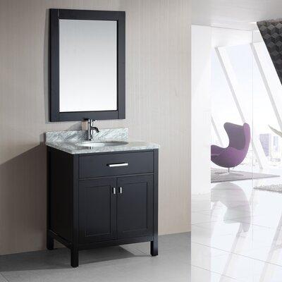"Design Element London 30"" Single Sink Vanity Set"