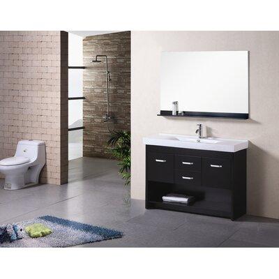 "Design Element Citrus 48"" Single Sink Vanity Set"