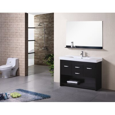 "Design Element Citrus 48"" Single Sink Vanity Set"