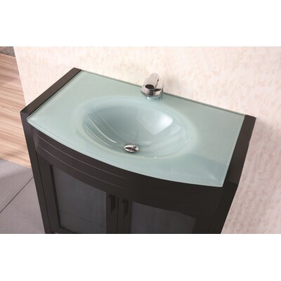 "Design Element Prestige 36"" Single Sink Vanity Set"