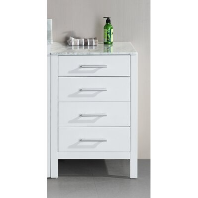 "Design Element London 20"" x 35"" Free Standing Cabinet"