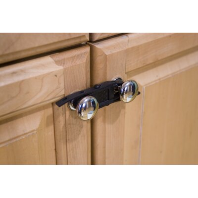 Rhoost Sling Cabinet Closure in Black (Pack of 4)