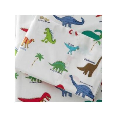 Traditions Linens Dino-Roar Sheet Set