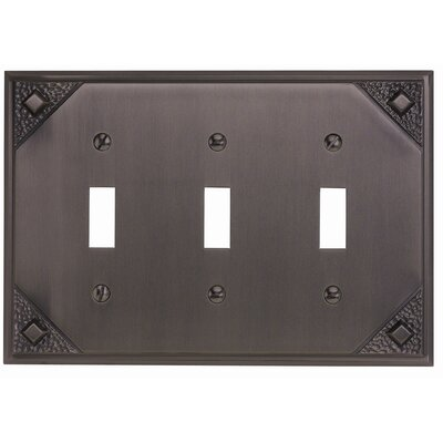 "Atlas Homewares 4.5"" Craftsman Triple Toggle"