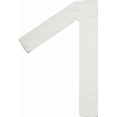 "Atlas Homewares Paragon 4"" House Number"