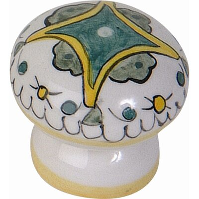 "Atlas Homewares Ceramic Buoncovento 1.75"" Round Knob"